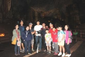Hãng PTS của Đài Loan quay phim phóng sự tại Vườn quốc gia Phong Nha – Kẻ Bàng